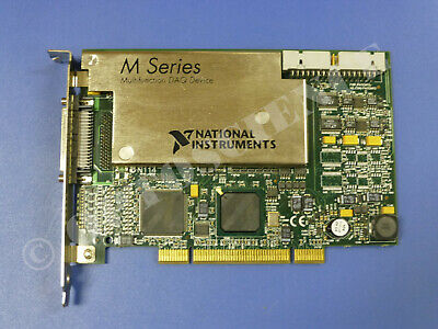 National Instruments PCI-6281 NI DAQ Card, 18-bit Analog Input, Multifunction