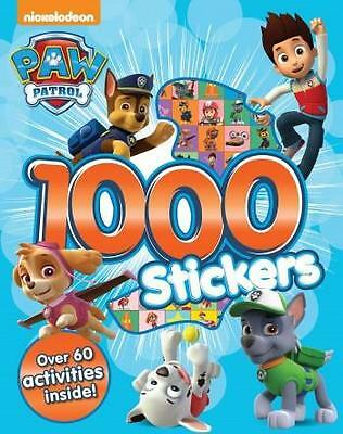PAW PATROL 1000 Stickers Book - Over 60 Activities