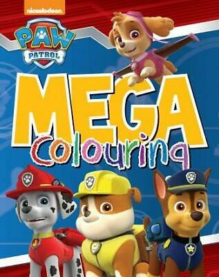 PAW PATROL Mega Colouring Book - 96 Pages of Colouring