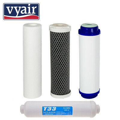 4 Pre Filters for Reverse Osmosis vyair RO-2N -Spare Water Filters