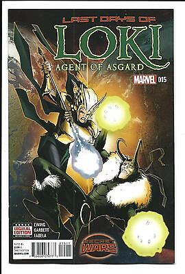 Loki: Agent Of Asgard # 15 (Marvel Secret Wars, Aug 2015), Nm New
