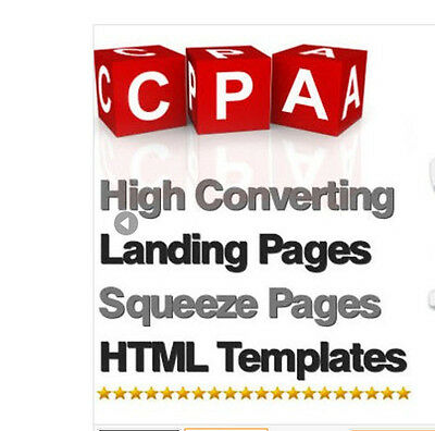 900+ High Converting CPA Landing Pages / Squeeze Pages - Mini-Site Websites