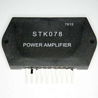 STK078 Free Shipping US SELLER Integrated Circuit IC Power Stereo Amplifier