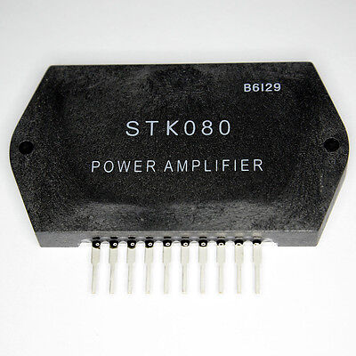 STK080 Free Shipping US SELLER Integrated Circuit IC Power Stereo Amplifier