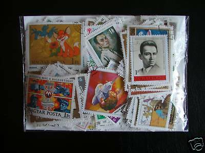 Promo Timbres Europe / Hongrie : 500 Timbres Tous Differents / Stamp Hungary