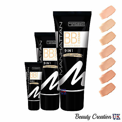 MANHATTAN 9 in 1 Long Lasting BB Cream 30ml MH007