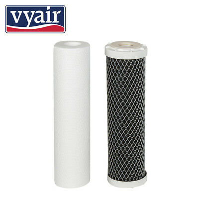 2 Pre Filters for Reverse Osmosis vyair RO-50M -Spare Water Filters