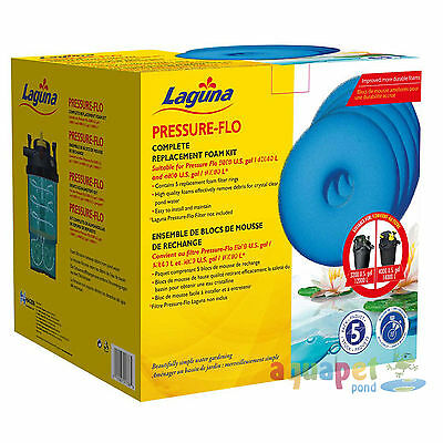 Laguna Pressure Flo Complete Replacement Foams Service Kit