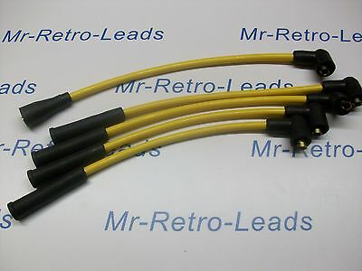 Yellow 8Mm Performance Ignition Leads Triumph Spitfire 1500 Quality Build Ht