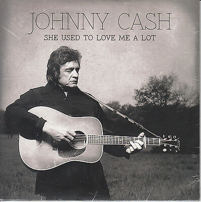 """JOHNNY CASH She Used To Love Me A Lot 2014 UK vinyl 7"""" NEW/SEALED"""