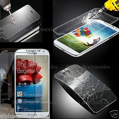 Premium Tempered Glass Screen Protector Film For Apple iPhone 4S 5S 6 Samsung S5