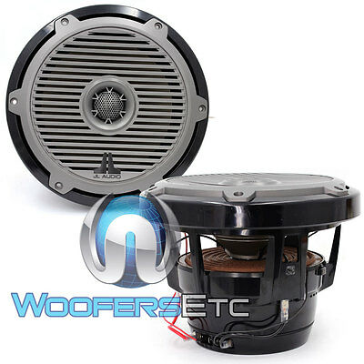 "Jl Audio M880-Ccx-Cg-Tb 8.8"" Silk Tweeters Boat Marine Cockpit Coaxial Speakers"