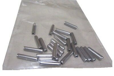 "420 Stainless Steel Coiled Spring Pin, 5/32"" Dia x 3/4"" Length, 50 pcs"