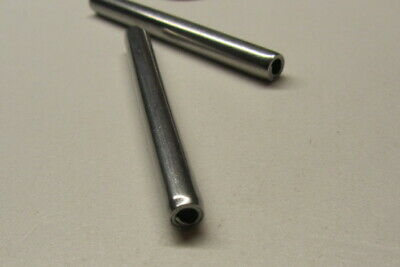 """420 Stainless Steel Coiled Spring Pin, 3/16"""" Dia x 2"""" Length,  20 pcs"""