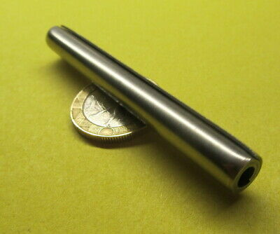 "420 Stainless Steel Coiled Spring Pin, 5/16"" Dia x 2 3/4"" Length,  4 pcs"