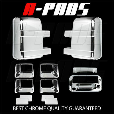 For Ford F-250/f-350 08-16 Chrome Mirror, Door Handle & Tailgate Cover