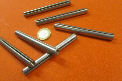 """420 S.S. Slotted Roll Spring Pin, 3/8"""" Dia x 3 1/2"""" Length, Pkg of 6 pcs-567"""