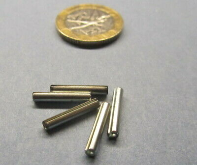"""Zinc Plate Steel Slotted Roll Spring Pin, 3/32"""" Dia x 9/16"""" Length, 250 pcs"""