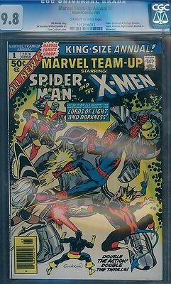 Marvel Team-Up Annual 1 CGC 9.8 Spider-Man and X-Men 1st Crossover MT 1012196013