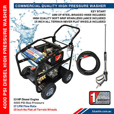 Special - High Pressure Washer - Diesel4000 PSI*13HP*Water Cleaner*NEW*