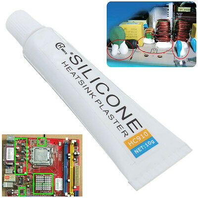 10g HC-910 Thermal Conductive Adhesive Glue Tube Heatsink Plaster Silicone New