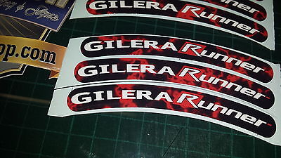 Gilera Runner Rim tape Wheel stickers EXCLUSIVE 50, 125. 172, 180 183 sp vx st B