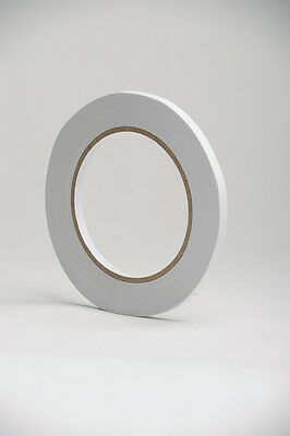 12mm Rolls Strong Permanent DOUBLE Sided Self clear Adhesive Craft Tape  25m