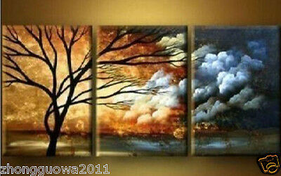 HOT SALE   HUGE WALL ART OIL PAINTING ON CANVAS;Abstract  Tree painting