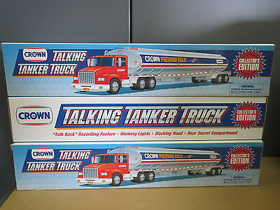 Crown 1999 Talking Tanker Mint Condition