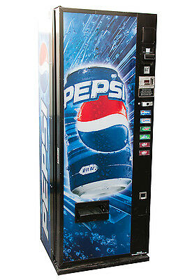 Dixie Narco 276 Pepsi Can Compact Single Price Vending Machine for Cans