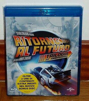 Trilogia Regreso Al Futuro Back To The Future 4 Blu-Ray Nuevo Precintado R2