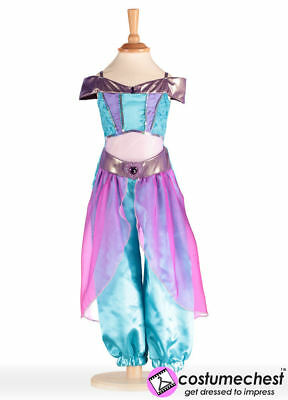 6-8 years Arabian Princess Dancer Childrens Costume by Travis Dress Up By Design