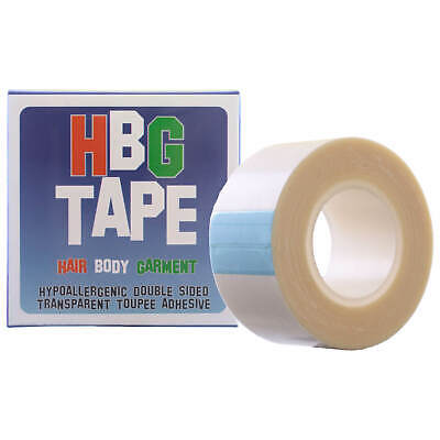 Single HBG Tape (Hair; Body and Garment) Wig & Toupee Adhesive 5m roll x 25mm