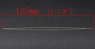 1 EASY THREADING ~ BEADING NEEDLE ~ 12.5cm x 0.6mm ~JEWELLERY~CORD~ELASTIC (74G)