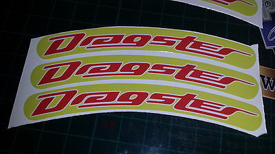 Italjet Dragster Rim tape Wheel stickers EXCLUSIVE 50 70 125 172 180 183 Style E