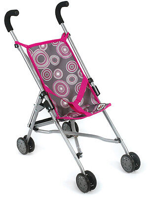 Bayer Chic 2000 Puppenbuggy Roma Hot Pink Pearls Buggy Puppenwagen Puppenkarre