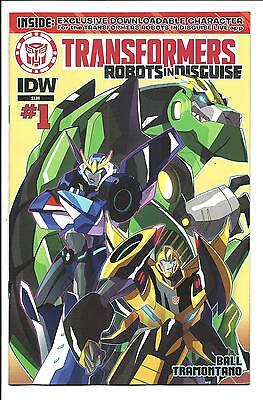 Transformers: Robots In Disguise # 1 (Idw Animated Series, July 2015), Nm New