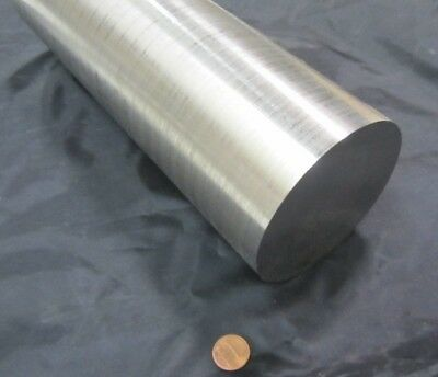 "304/304L Stainless Steel Rod, 3 5/8"" Dia (+/-.003"") x 36"" Length"