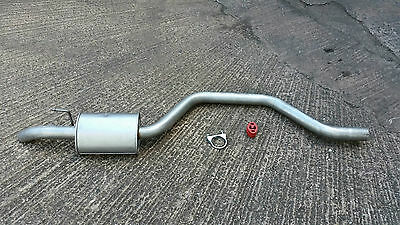 SSANGYONG RODIUS 2.7SE XDi MPV MANUAL REAR SILENCER EXHAUST 05>  inc Fittings