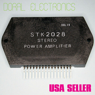 STK2028 Free Shipping US SELLER Integrated Circuit IC Stereo Power Amplifier