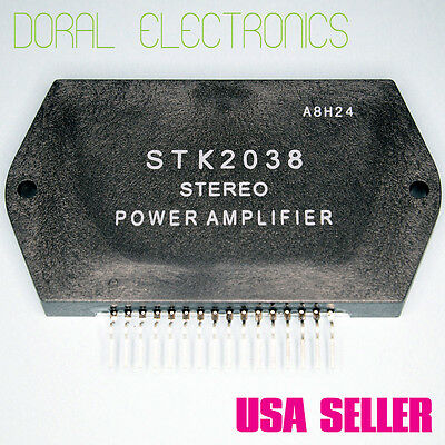 STK2038 Free Shipping US SELLER Integrated Circuit IC Stereo Power Amplifier
