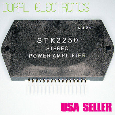 STK2250 Free Shipping US SELLER Integrated Circuit IC Stereo Power Amplifier