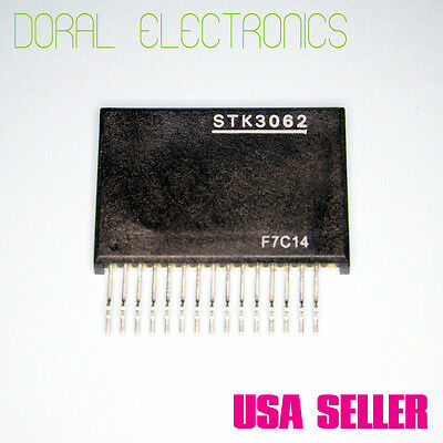 STK3062 Free Shipping US SELLER Integrated Circuit IC Stereo Power Amplifier