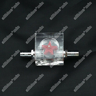 New Water Cooling 2 thread water cooling flow meter