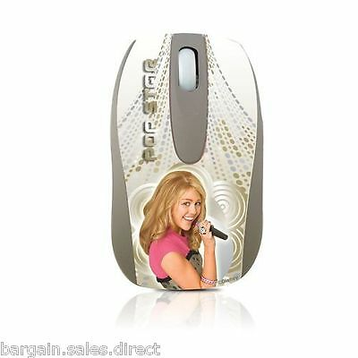 Disney Hannah Montana Computer Optical Usb Scroll Mouse
