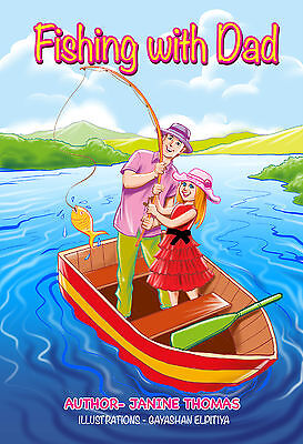 Personalised Childrens Book (FISHING WITH DAD)