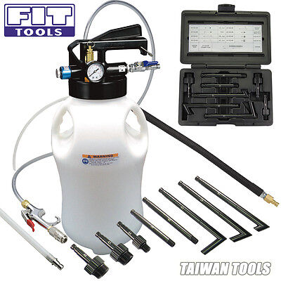 FIT Two way 10L Air Engine Gear ATF Oil Extractor & Dispenser