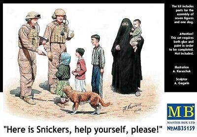 """1/35 MASTER BOX """"Here is Snickers, help yourself, please!""""    MB35159"""