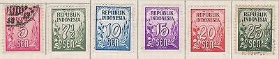 (ID-4) 1951 Indonesia Mix 30stamps MH &used