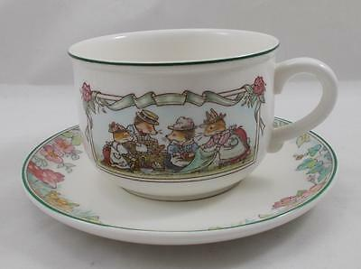 Villeroy & and Boch FOXWOOD TALES large breakfast cup and saucer
